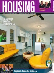 September 2015 Cover Housing